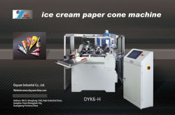 Cornet de crème glacée Machine (DYK6-B)