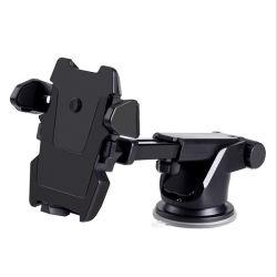 Alquiler de teléfono móvil Soporte Salpicadero telescópico Ventosa varilla larga transformadores autoblocante de navegación y la rotación de 360 grados