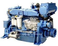 Motore marino di serie Wd12, 240-294kw, Weichai con molte certificazioni