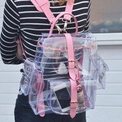 Sacchetto impermeabile dello zaino del banco della radura dello zaino del banco del sacchetto libero del PVC di modo