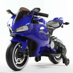 Giro elettrico dei motocicli 12V di potenza della batteria della corsa della mano dei capretti sul giro elettrico dei motorini della bici del giocattolo sull'automobile Mz-128