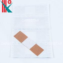 高品質の使い捨て可能な生殖不能の救急処置の皮膚色の医学の製品の付着力のバンドエイド