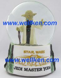 Statua di Polyresin Jedi Yoda, regalo di Guerre Stellari della resina