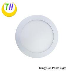 Round Slim Plafond 9W 12W 18W Indoor LED-mur de LED pour panneau Panneau lumineux de 220V