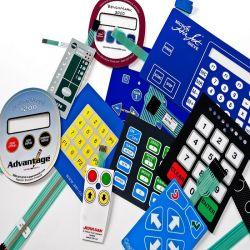 Nueva moda personalizadas táctil capacitiva de protección IP67 Interruptor de membrana en China