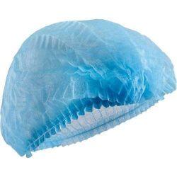 Blauw/Wit Elastic Cap Bouffant Cap Disposable Cap