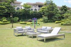 Foshan 현대 등나무 또는 고리버들 세공 정원 주문 가구는 다른 옥외 안뜰 가구를 놓았다