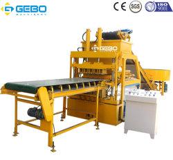 O Qt4-10 Carvão Automática máquina para fabricação de tijolos de cinzas volantes Indonésia