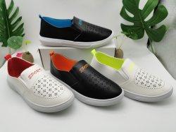 Nueva Tendencia Moda Injeciton sobre el plano de deslizamiento de los hombres zapatos de vestir casual (ZL20813-17)