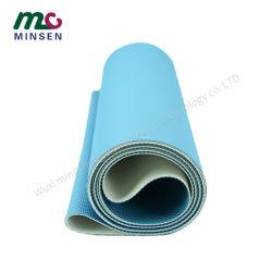 Salle de Gym Fitness en usine usure - Tapis de course à pied résistant aux courroies transporteuses PVC bleu
