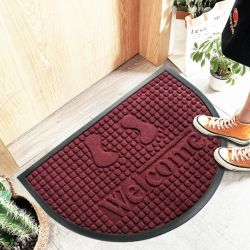 Sein kann kundenspezifische wasserdichter Gummi geprägte nicht Gleitboden-Matte für Innen- und im Freien/Gleitschutzfußboden/Capter/Hotel-Tür-/Wool-Teppich