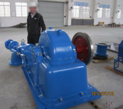 L'eau Turgo Turgo à turbine / à turbine / Turbine Turgo générateur unité