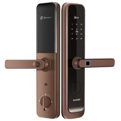 스마트 핸들 지문 인식 디지털 안전 도어 잠금 장치