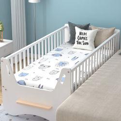 제조자 단단한 나무 침대 모기장을%s 가진 접히는 아기 간이 침대