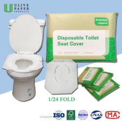 Ванная комната материалы портативных Flushable одноразовые туалетной бумаги сиденья крышки для Kid /взрослых