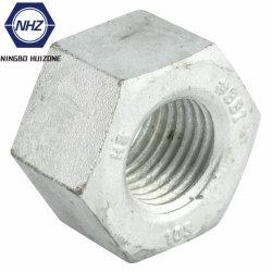 ASTM A194 A563 тяжелых шестигранные гайки