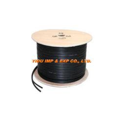 RG59+2c CCTV-kabel met voeding voor CCTV/CATV/camera liftvideo