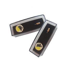 شعار بقوالب ناعمة/صلبة بلون الزنك ثلاثي الأبعاد مخصص عالي الجودة (PIN-063)