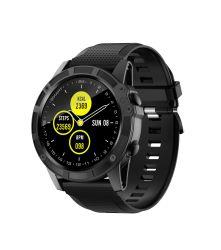 P58C nuevo y elegante Android Ios Ronda Smart relojes con la frecuencia cardiaca de la presión sanguínea del cuero de silicona de aleación de zinc metálico de la banda de acero inoxidable ver