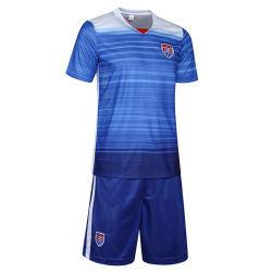 2015 nouveaux tissus de vêtements de sport avec une haute qualité absorbant Fashion Maillot de soccer Uinforms de Football Américain
