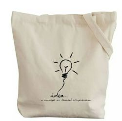 Custom кремовый Вся обшивочная ткань хлопок Canvas ткань сумка для переноски