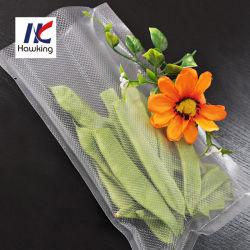 Certifiée ISO de grade alimentaire sac sous vide d'emballage alimentaire pour la viande/riz/l'écrou
