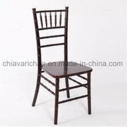 웨딩 이벤트를 위한 우드 마호가니 치아바리 의자