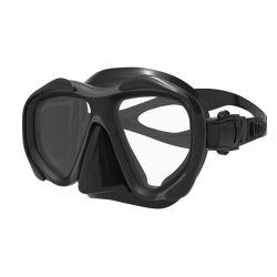 Профессиональный дайвинг очки для взрослых силикона черного цвета из Китая (MK-2601)