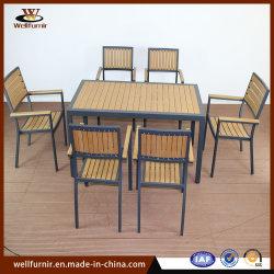 Les loisirs d'un patio extérieur traditionnel mobilier Polywood populaires de l'aluminium (MFPW-18107S)