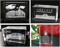 3D, лазерный гравировка K9 Crystal плотность бумаги