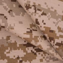 Desert 100 Algodão Rip Stop tecido camuflagem Militar