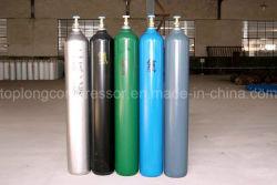 150bar /200bar en acier sans soudure à haute pression de l'oxygène de l'azote de l'hydrogène l'Argon, Hélium bouteille de gaz CO2 Vérin GNC