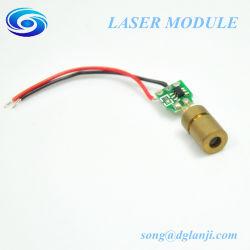Justierbarer Dioden-Laser der PUNKT Grün-Laser-Baugruppen-520nm 5MW