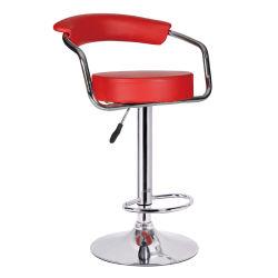 부엌 선술집 의자를 식사하는 여가 강철 PU Barstool 홈
