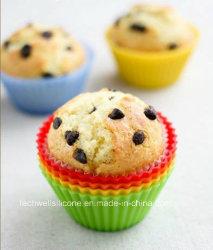 Copo de Muffin de Silicone de Comida