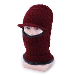 Tejidos personalizados pasamontañas tapa la cara de invierno