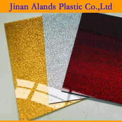 2.6mm 2.8mm 3mm Silber und Goldgewebe-Tuch-Acryl-Blatt