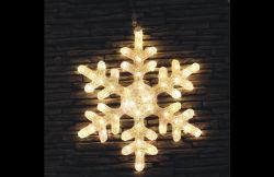 Piscina férias de Natal LED decoração motivo floco Solar Luz acrílico