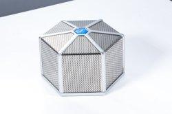 Haut-parleur Bluetooth à portée de Bluetooth de la Banque d'alimentation & micro intégré, Dual-Driver haut-parleur portable sans fil