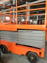 500Kgs, 11m (JCPTG Semi-Electric table élévatrice à ciseaux11) avec batterie et chargeur