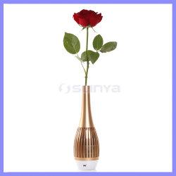 Accessoires de vase d'Éveil lumière LED de style de décoration Portable l'Orateur Vase de fleurs haut-parleurs Bluetooth