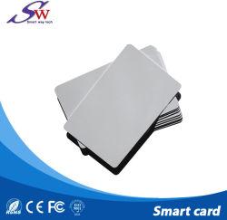 Custom transparent en PVC blanc Tk Passive4100 125kHz Carte ISO RFID