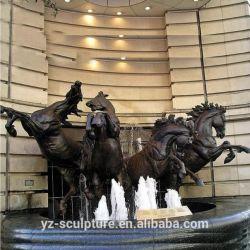 Decoración de Jardín de tamaño de la Vida Animal estatua del Caballo de Bronce Escultura