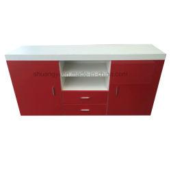 Maschere di legno del basamento di vendita dell'ultima mobilia calda TV del pacchetto piano
