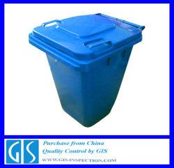 Ispezione di prespedizione professionale - contenitore per rifiuti