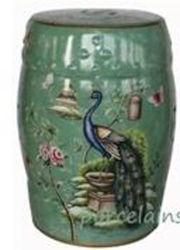 Meubles anciens chinois tabouret en céramique