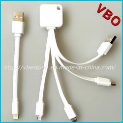 Высокое качество Фги Certified 4 в 1 USB-кабель зарядного устройства для iPhone/Samsung (AD-628)