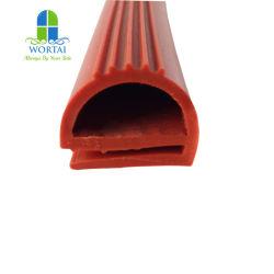 La FDA alimentos grado resistente al calor E P Tira de sellado de caucho de silicona con forma de la junta de goma para la puerta del horno de cocción