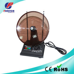 Antenne TV intérieure radar ronde