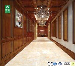 Material de PVC impermeable interior compuesto de plástico y madera de la Junta de pared
